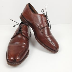 Allen Edmonds wendell brown leather oxford